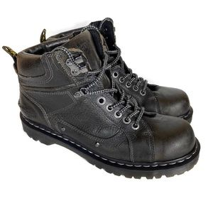 Doc Martens Diego Men's Lace Up Work Black Boots